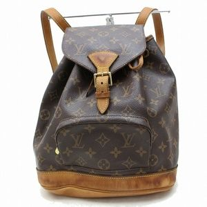 Louis Vuitton Back Pack Montsouris Browns Monogram